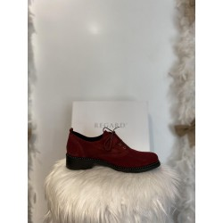 chaussures-derby-cuir-rouge